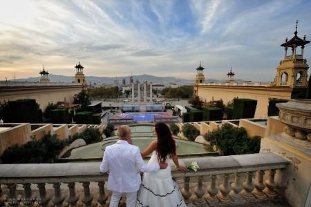 Poble Español-wedding